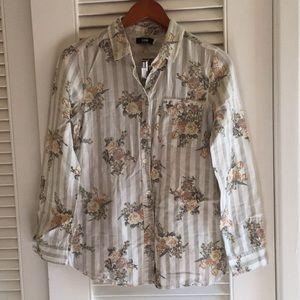 BDG Floral Shirt